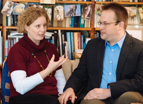 Süveges Gergő és felesége